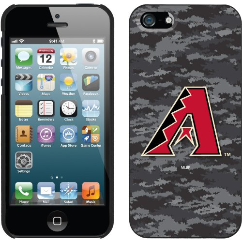 Great Price Arizona Diamondbacks - Digi Camo Color design on a Black iPhone 5s / 5 Thinshield Snap-On Case by Coveroo