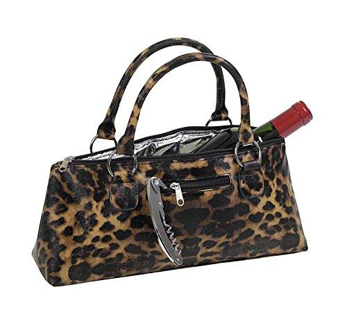 Primeware Clutch Insulated Single Bottle Wine Tote, Jaguar