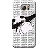 Tecozo Designer Printed Back Cover For Samsung Galaxy S6 Edge Plus, Samsung Galaxy S6 Edge Plus Back Cover, Hard Case For Samsung Galaxy S6 Edge Plus, Case Cover For Samsung Galaxy S6 Edge Plus, (Dab Panda Design,Pattern/ Quirky)
