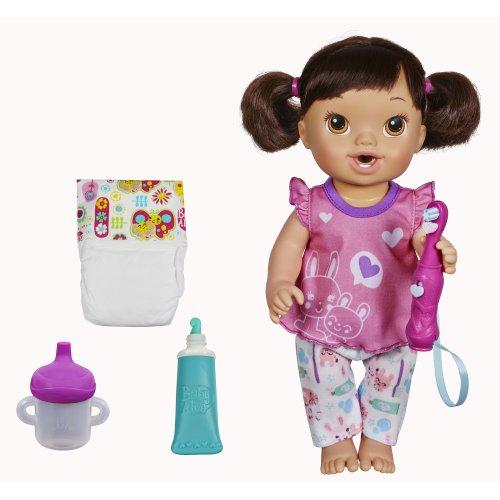 Baby Alive Hasbro Baby Alive Brushy Brushy Baby Doll Brunette