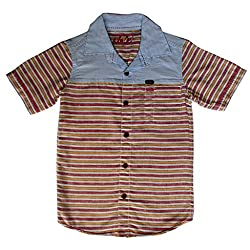 Globe Boys Cotton Shirt Half Sleeve