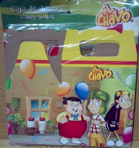 El Chavo Candy Boxes, Caja De Dulces 6 Pieces