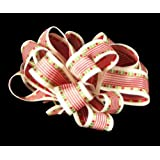 Offray Fancy Free Monofiliment Edge Ribbon, 7/8