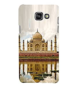 Fuson Premium Back Case Cover Taj Mahal With black Background Degined For Samsung Galaxy A5(2016)::Samsung Galaxy A5 A510F