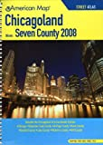 American Map 2008 Chicagoland Seven County Atlas