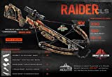 Wicked Ridge Raider CLS Premium Crossbow Package, 180-Pound