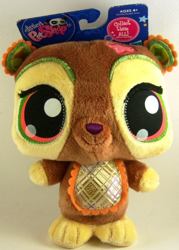 Littlest Pet Shop Plush Bear 2009 - 1
