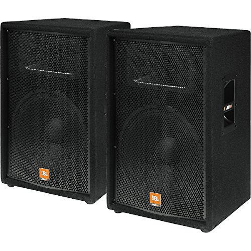 "Jbl Jrx115 15"""" 2-Way Speaker Cabinet - Pair"