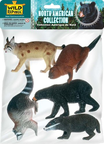 Polybag-North American Animal Collection 5 Pieces
