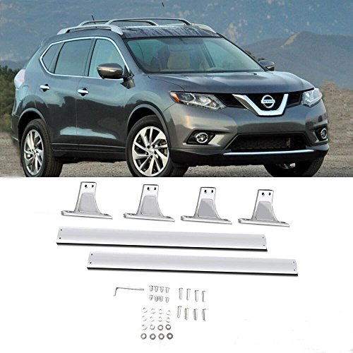 DINORACK Fit 2014 2015 2016 Nissan Rogue OE Style Aluminum Roof Rack Cross Bar ( 2 pcs) (Roof Rack Xtrail compare prices)