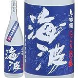 海波にごり泡盛30度1800ml一升瓶 崎元酒造所(与那国島)