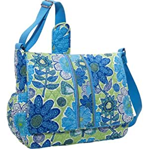 vera bradley messenger baby bag doodle daisy baby. Black Bedroom Furniture Sets. Home Design Ideas
