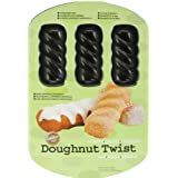 Wilton 2105-0627 Doughnut Twist Pan, 6-Cavity