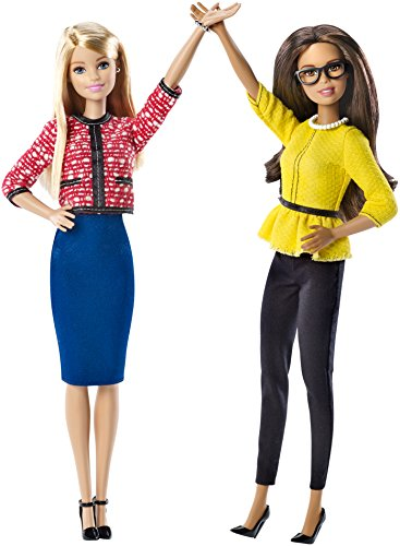 Barbie President Vice Dolls Pack