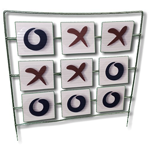 TIC TAC TOE Target - Airsoft, BBs, Foam Darts - FlipGong (Spinner Target For Bb Gun compare prices)