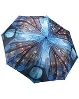 Rainy Evening Auto Open/close Folding Umbrella