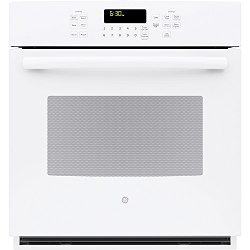 """GE 27"""" Built-In White Convection Wall Oven"""