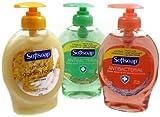 Softsoap 3 Piece Bundle Hand Soap With Moisturizers, 7.5 Fl. Oz., Crisp Clean, Fresh Citrus, Milk & Golden Honey