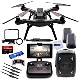 3DR-Solo-Quadcopter-No-Gimbal-3DR-Backpack-Extra-3DR-Smart-Battery-Extra-3DR-Propeller-Set-SanDisk-32GB-Extreme-PRO-microSDHC-Memory-Card-High-Speed-All-in-1-Card-Reader-MORE