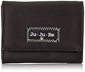 Ju-Ju-Be Thrifty Wallet (Black/ Silver)