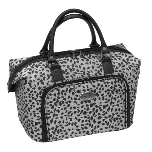 amelia-earhart-luggage-safari-360-collection-cosmetic-tote-silver-black-jacquard-one-size