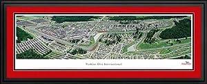 NASCAR Tracks - Watkins Glen International Aerial - Framed Poster Print by Laminated Visuals