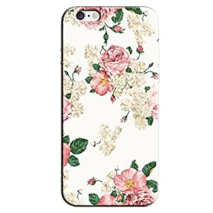 PINK FLOWERS FLORAL DESIGN BACK COVER FOR APPLE IPHONE 6S PLUS