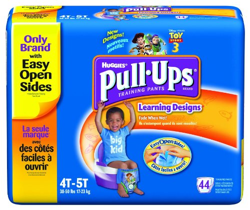 Huggies Pull-Ups - Training Pants 4T / 5T/Boys/38 lb/Case of 176