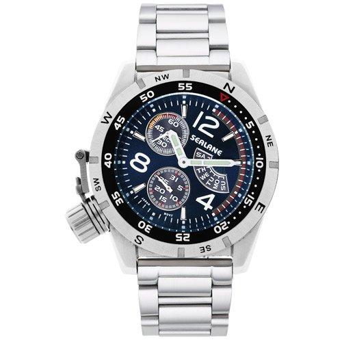 [シーレーン]SEALANE 腕時計 20BAR N夜光 SE46-MBL メンズ
