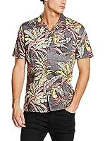 Levis Brand Camisa Hombre Ss Hawaiin (Multicolor)