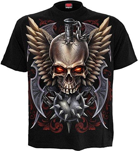 Spiral -  T-shirt - Uomo nero Small
