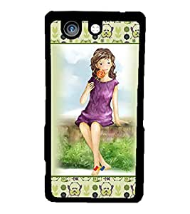 Fuson 2D Printed Girly Designer back case cover for Sony Xperia Z4 Compact - D4280