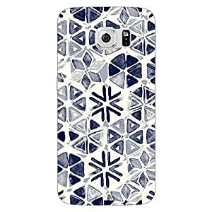 Jugaaduu Snow winter Pattern Back Cover Case For Samsung S6