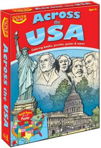 Across the USA Fun Kit (Dover Fun Kits)