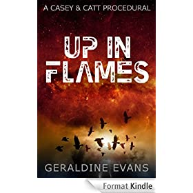 Up in Flames (#1 in the Casey and Catt British Detective Series) (English Edition)