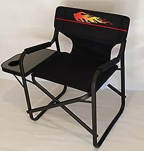Amazon Com Hot Rod Heavy Duty Director Chair W Folding