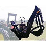 6' ft 3 Point Backhoe with Thumb Excavator Tractor Attachment Kubota Deere