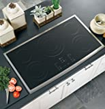 GE PP975SMSS Profile 36' Stainless Steel Electric Smoothtop Cooktop
