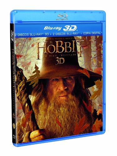 El Hobbit: Un Viaje Inesperado (2 discos Blu-ray 3D + 2 discos Blu-ray) [Blu-ray]