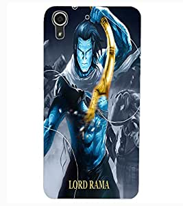 ColourCraft Lord Rama Design Back Case Cover for HTC DESIRE 626