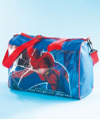 Spiderman Overnight Bag Sleep Over Duffle Boys Gym