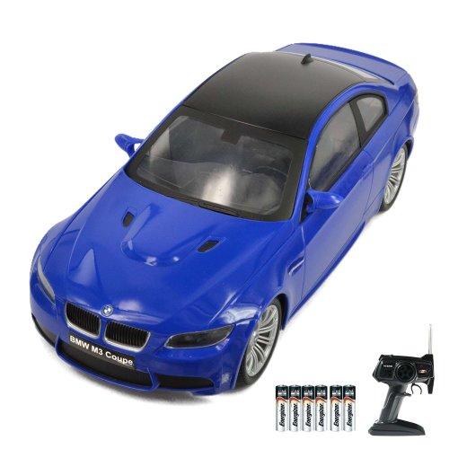 BMW M3 Coupe - RC ferngesteuertes Lizenz-Fahrzeug im Original-Design, Modell-Maßstab 1:14, Ready-to-Drive, Auto inkl. Fernsteuerung und Batterien, Neu