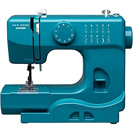 Janome Marine Magic Basic, Easy to Use, 10 Stitch Portable, Compact Sewing Machine with Free Arm only 5 pounds available at Amazon for Rs.22829
