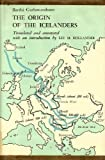 img - for The Origin of the Icelanders by Guthmundsson, Barthi (1967) Hardcover book / textbook / text book