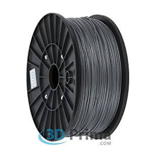 3D-Printer Filament ABS - 1,75mm - 1 kg spool - Silver