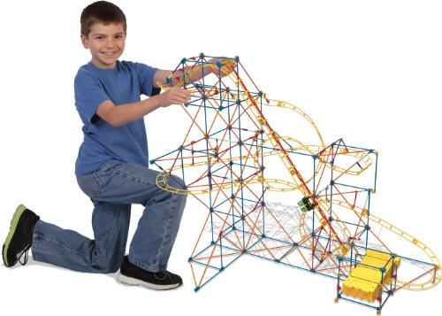 K'NEX Hyperspeed Hangtime Roller Coaster Building Set JungleDealsBlog.com