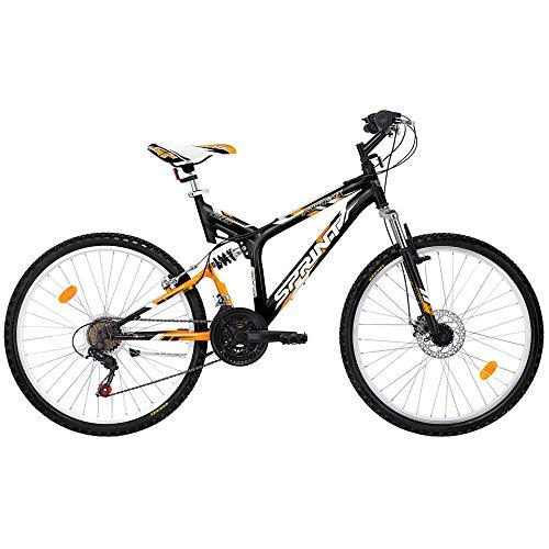 SPRINT-Mountainbike-26-Zoll-PA-26x-MTB-Shimano-18-Gang-vollgefedert-Scheibenbremse-Modell-2015