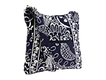 Vera Bradley Hipster Bag / Purse Twirly Birds Navy
