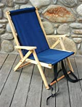 Backpack Chair - Navy Blue