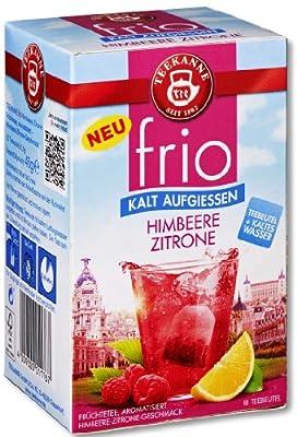 Teekanne frio Himbeere Zitrone, 5er Pack (5 x 45 g) von Teekanne GmbH bei Gewürze Shop